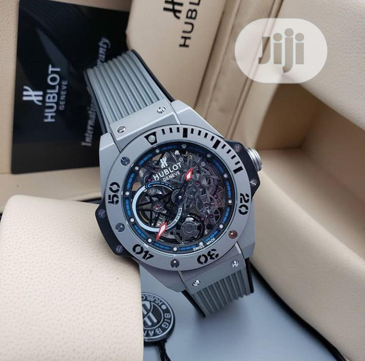 High Quality Hublot Rubber Strap Watch | Watches for sale in Ibadan, Oyo State, Nigeria