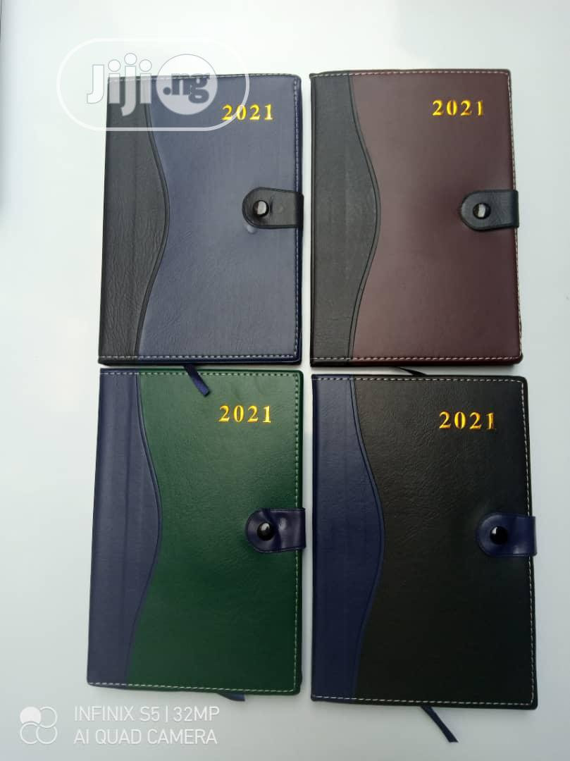 Diary 2021 Good Quality Available | Stationery for sale in Lagos Island (Eko), Lagos State, Nigeria