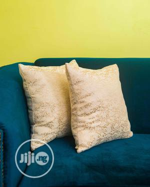 Classic Patterned Throw Pillow With Stuffing | Home Accessories for sale in Lagos State, Ilupeju