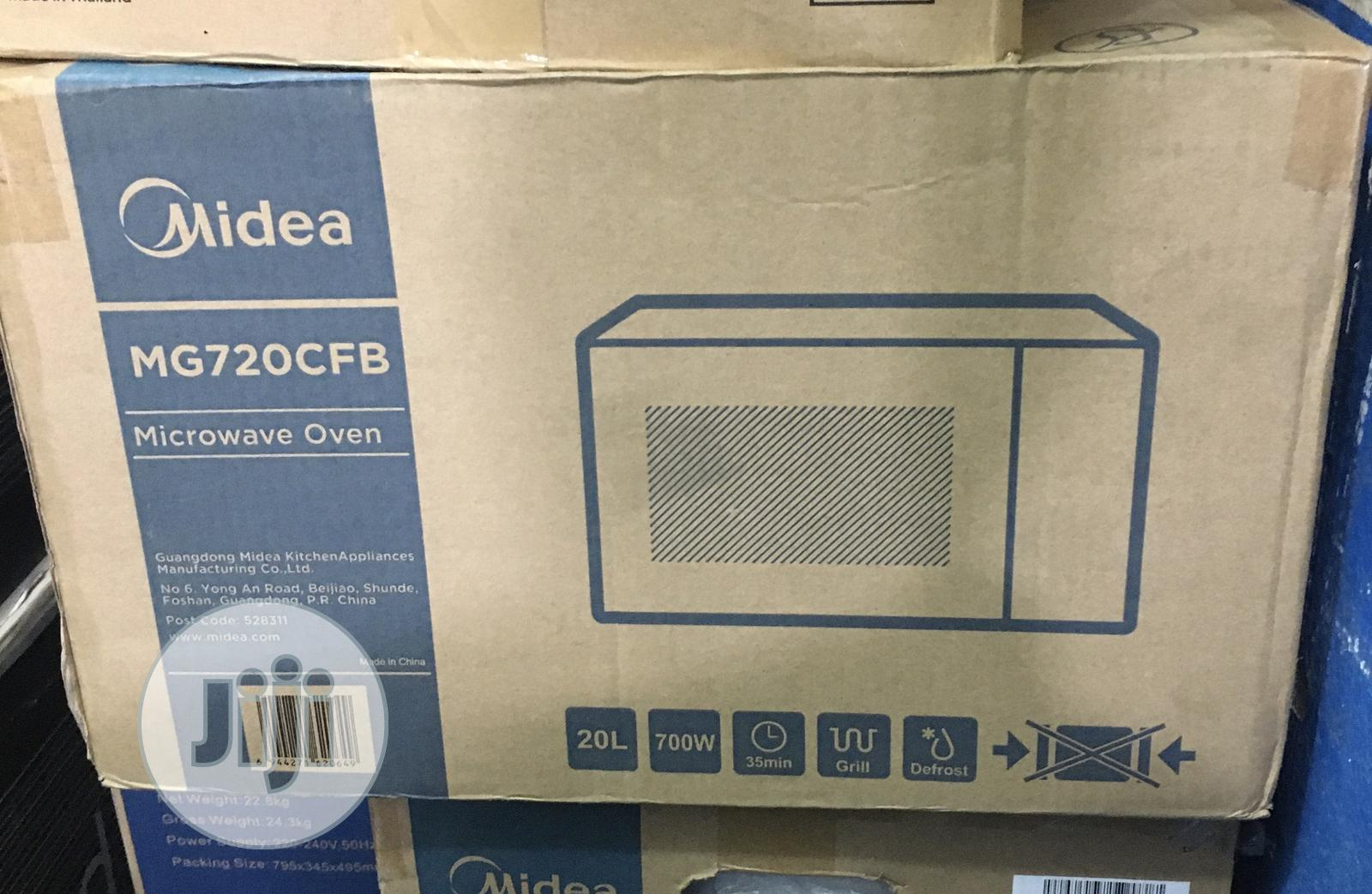 Midea 20liters Microwave With Grill 2years Warranty