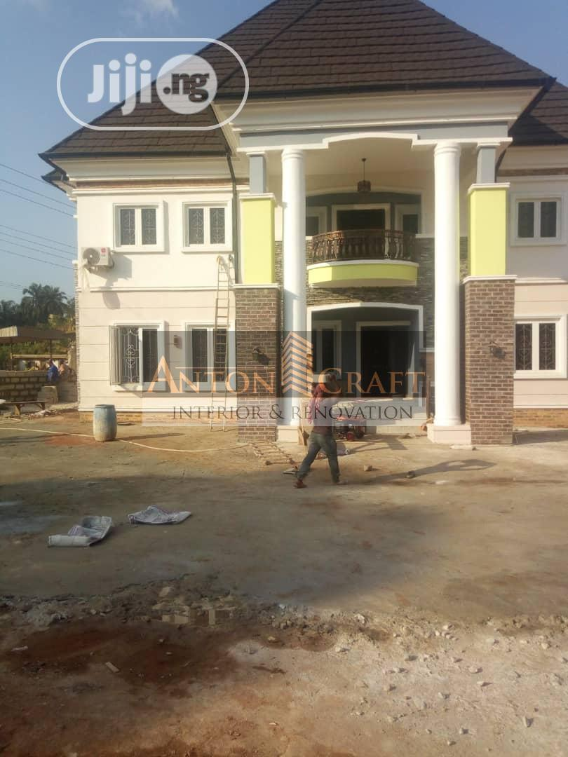 Screeding, Painting, Wall Paper And 3D Panel Installation | Building & Trades Services for sale in Owerri, Imo State, Nigeria