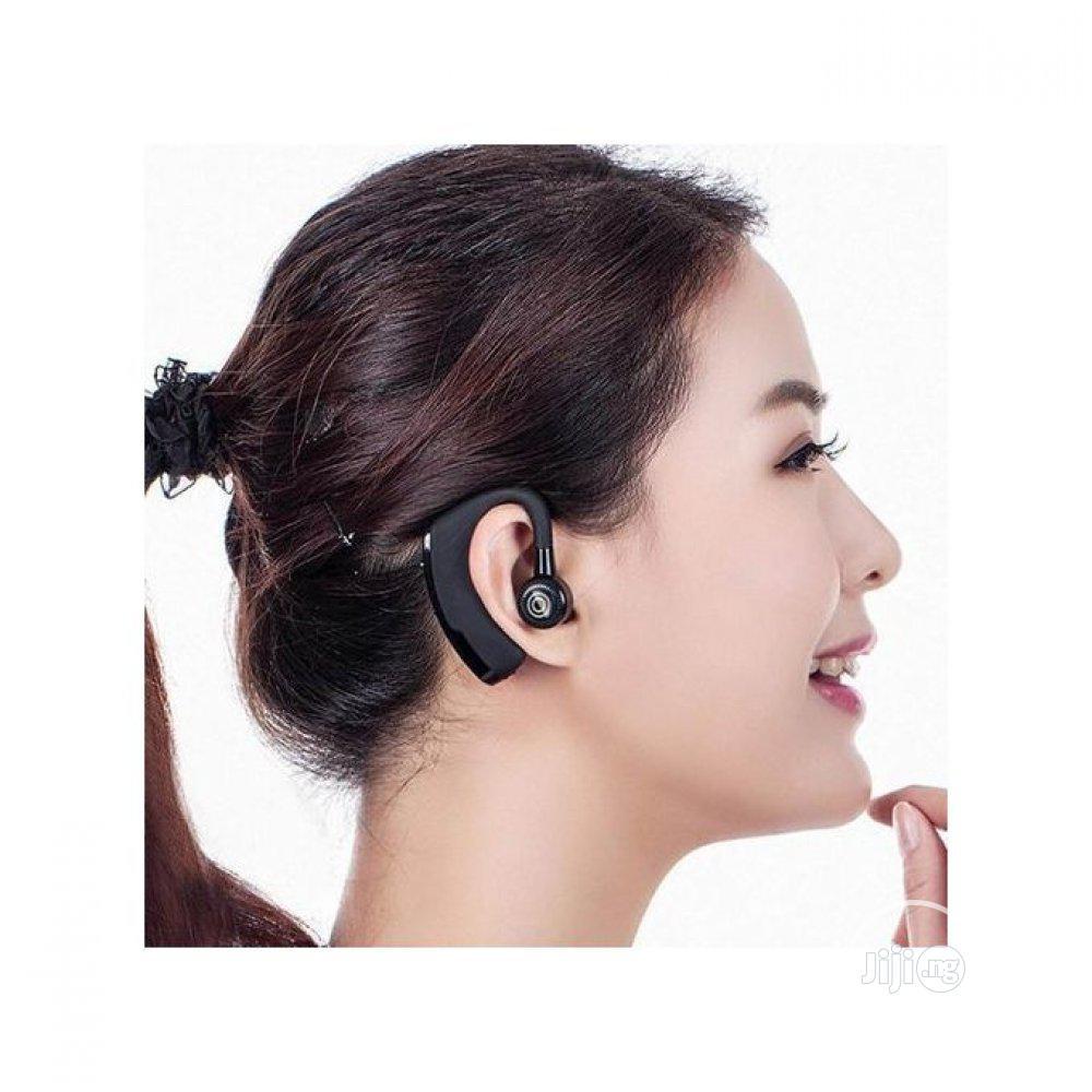 Ear Wireless Bluetooth Headset V9 - Samsung Ja21 | Headphones for sale in Alimosho, Lagos State, Nigeria