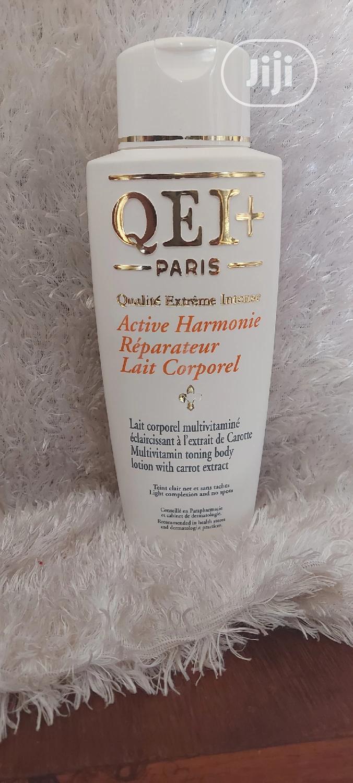 Qei+ Paris Multivitamin Toning Body Lotion - Carrot Extract