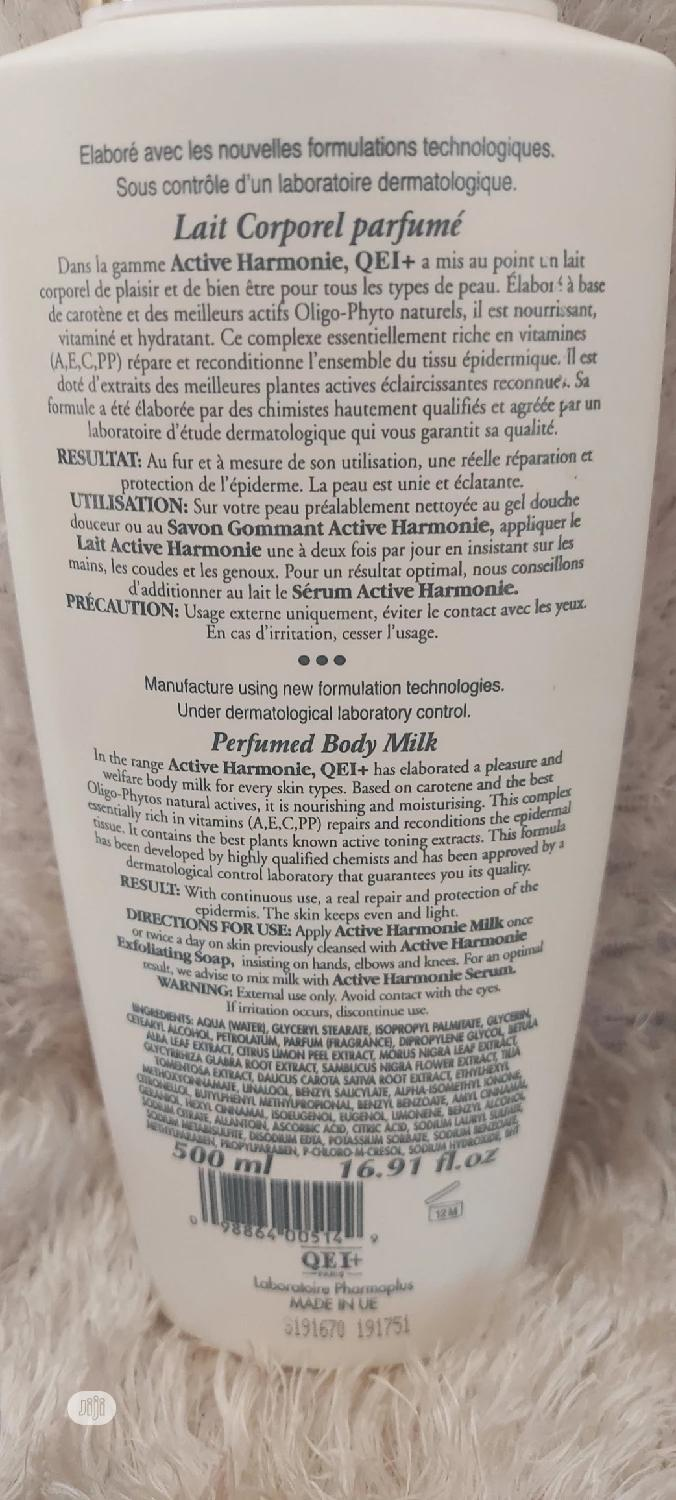 Qei+ Paris Multivitamin Toning Body Lotion - Carrot Extract | Bath & Body for sale in Ikotun/Igando, Lagos State, Nigeria