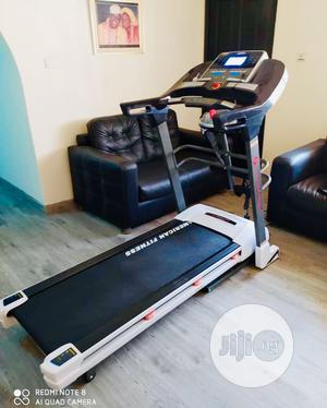 Standard Heavy Duty Americans Fitness 2.5hp Treadmill   Sports Equipment for sale in Lagos State, Surulere