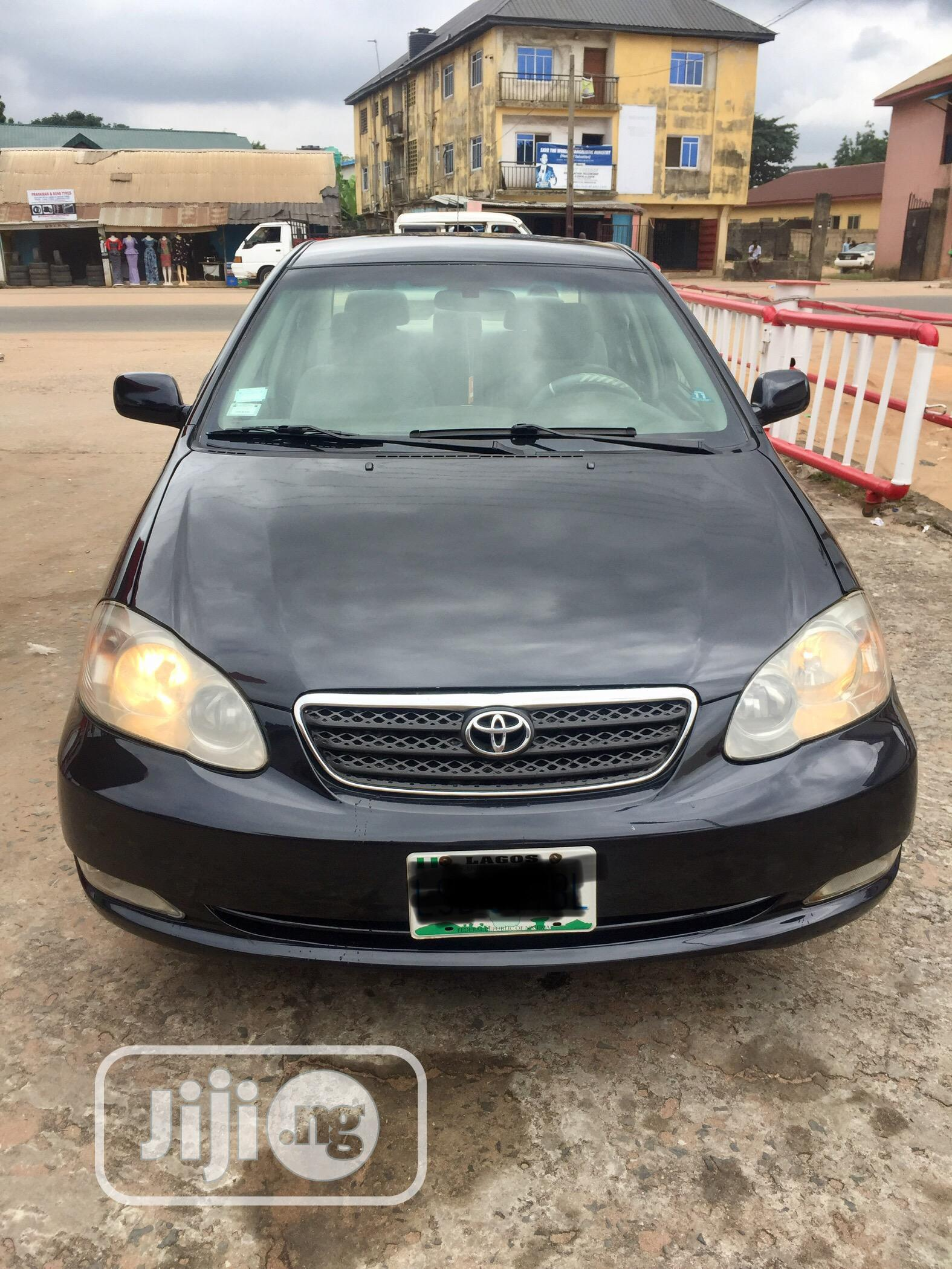 Toyota Corolla 2005 Le Black In Owerri Cars Adonis Uche Jiji Ng For Sale In Owerri Buy Cars From Adonis Uche On Jiji Ng