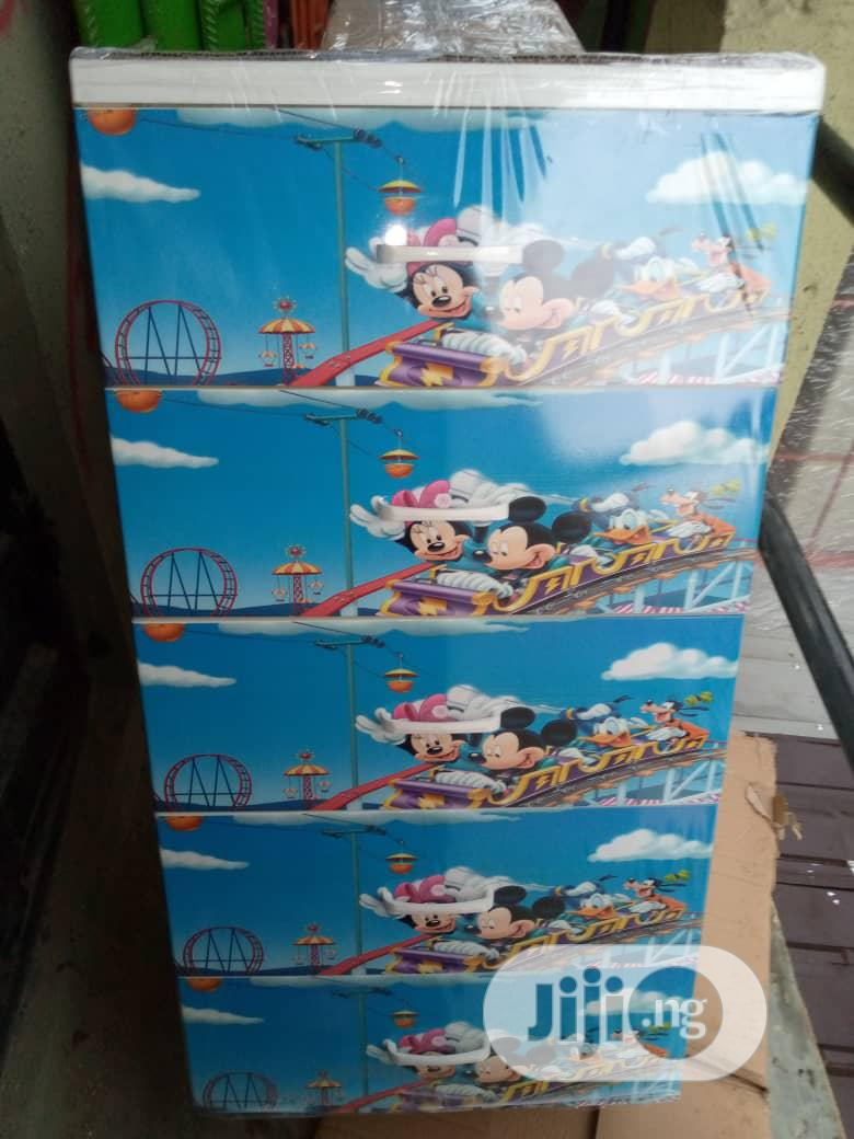 Best Quality Mickey Mouse Character Baby Wardrobe. | Children's Furniture for sale in Lagos Island (Eko), Lagos State, Nigeria