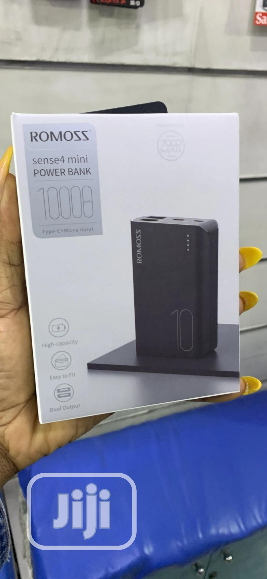 ROMOSS Sense4 Mini Powerbank | Accessories for Mobile Phones & Tablets for sale in Ikeja, Lagos State, Nigeria