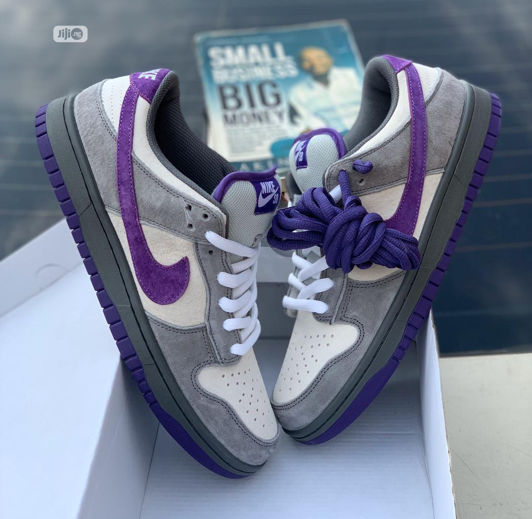 "Nike SB Dunk ""Purple Pigeon"""