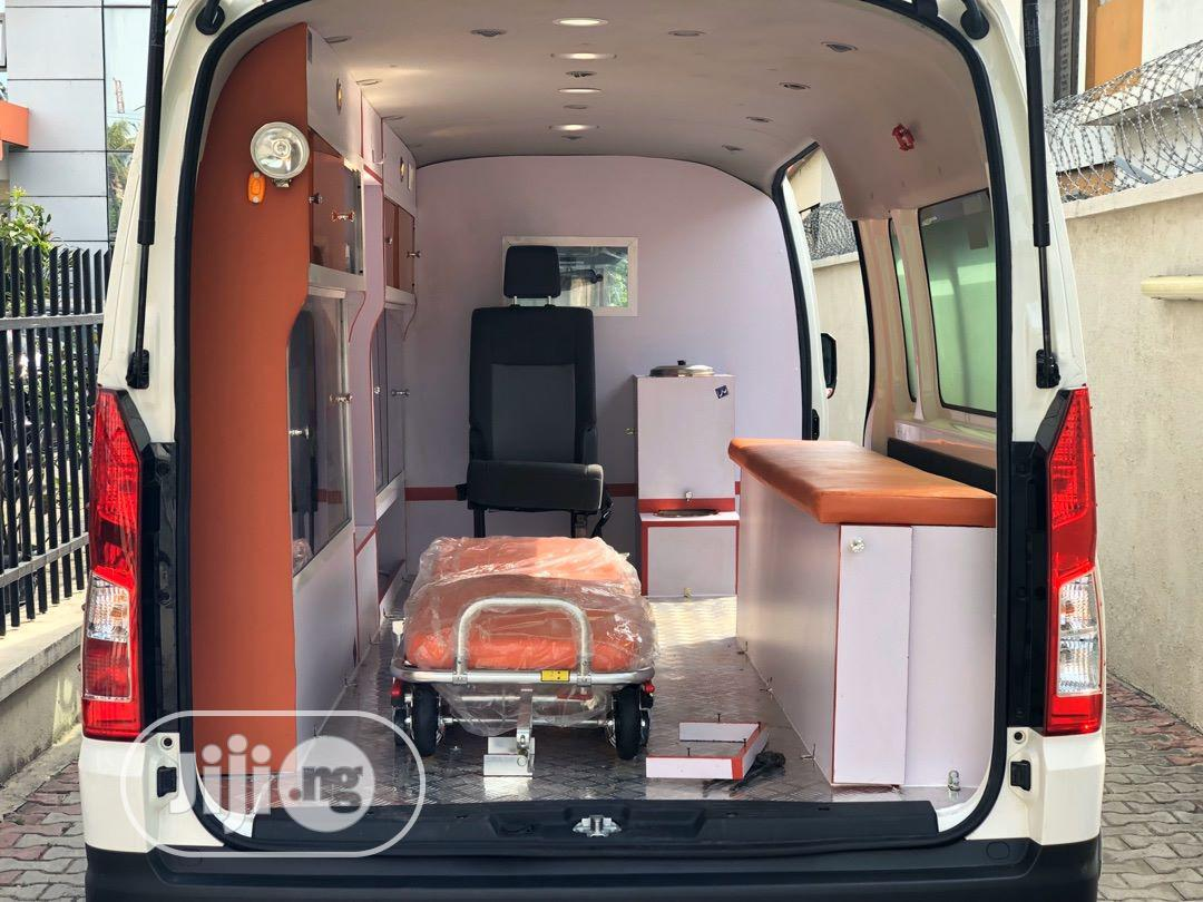 New Toyota Hiace 2020 White   Buses & Microbuses for sale in Ikeja, Lagos State, Nigeria
