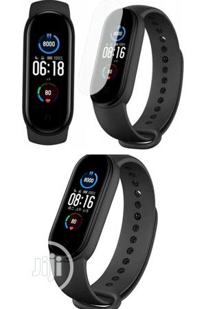 Xiaomi Mi Band 5 Fitness Tracker Smart Watch Chinese Version | Smart Watches & Trackers for sale in Lagos State, Ikeja