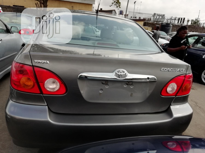 Toyota Corolla 2005 LE Gray   Cars for sale in Apapa, Lagos State, Nigeria