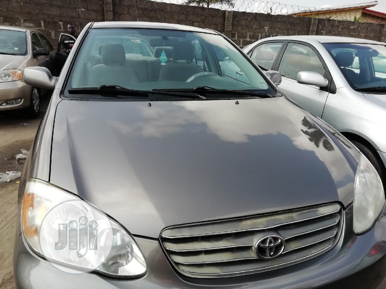 Toyota Corolla 2005 LE Gray