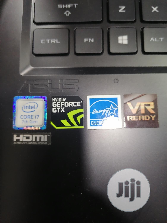 Laptop Asus ROG Strix GL703 16GB Intel Core i7 SSD 256GB | Laptops & Computers for sale in Ikeja, Lagos State, Nigeria
