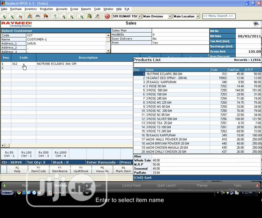 Gofrugal POS Software For Retail,Restaurant,Distributions | Software for sale in Ajah, Lagos State, Nigeria