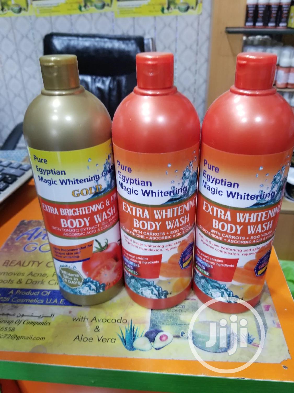 Archive: Pure Egyptian Magic Whitening Extra Whitening Body Wash