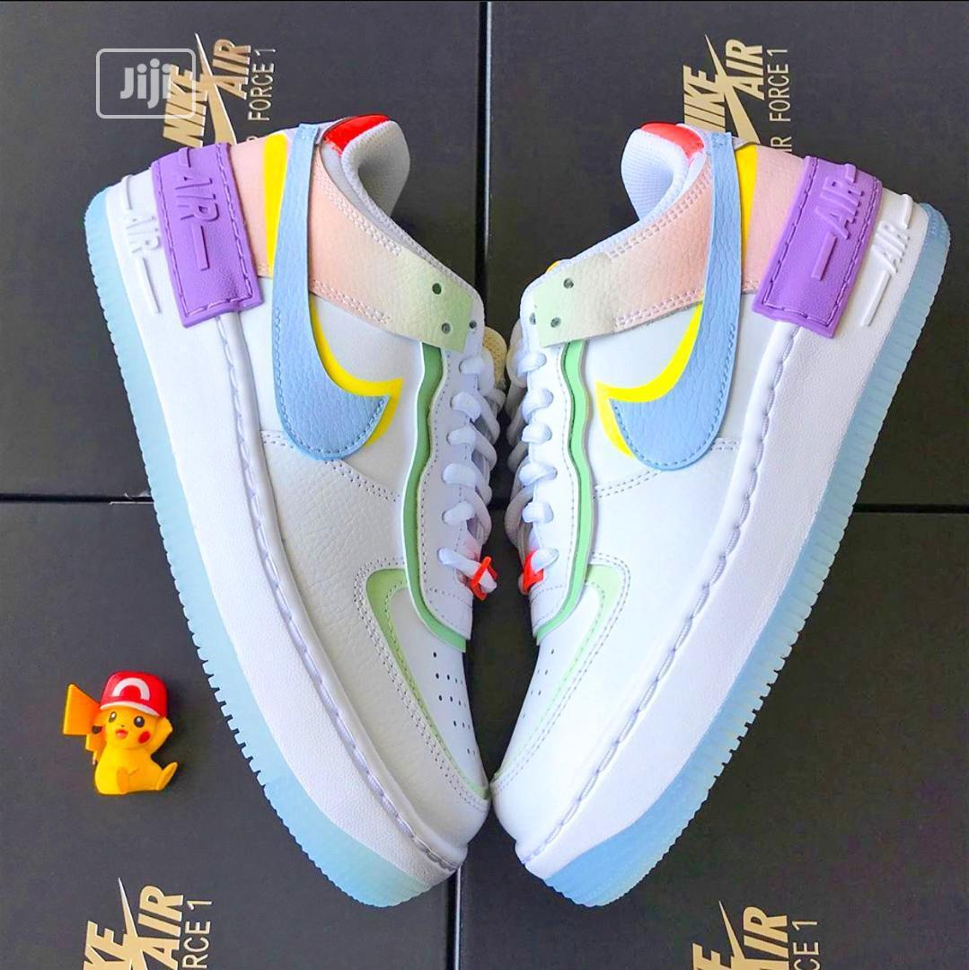 Archive Nike Air Force 1 Shadow White Hydrogen Blue Purple In Surulere Shoes Nenye Ezeji Jiji Ng The overlays on the upper can also add support and. nike air force 1 shadow white hydrogen blue purple