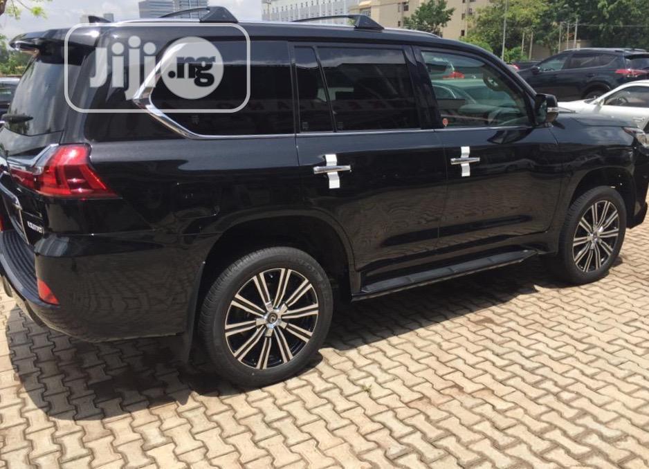 New Lexus LX 2019 570 Three-Row Black | Cars for sale in Maitama, Abuja (FCT) State, Nigeria