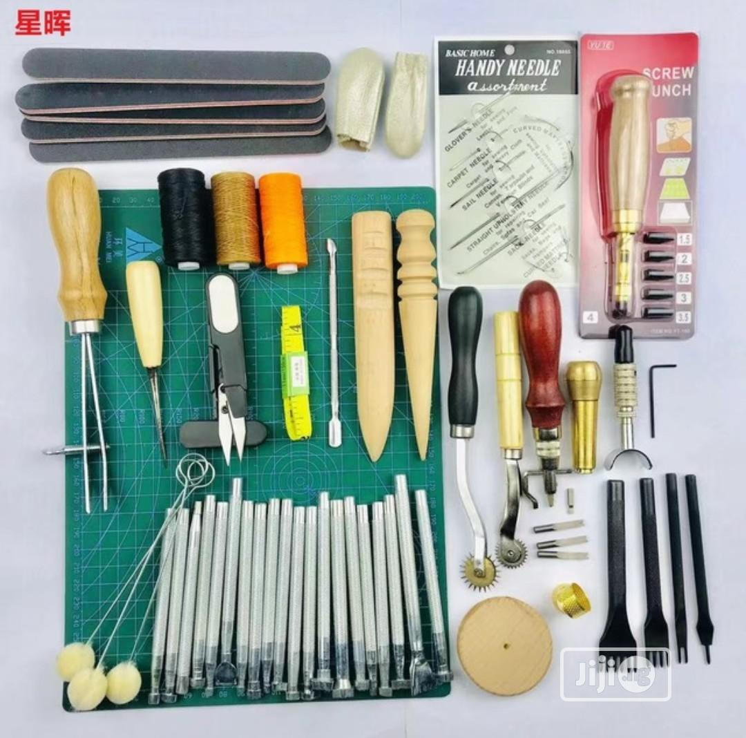 Leather Craft Tools Set