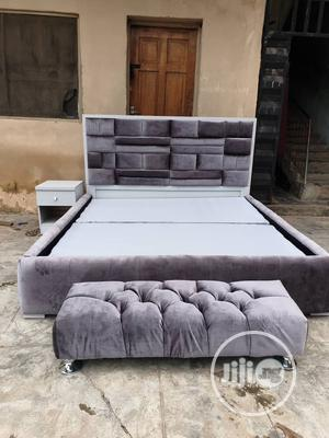 6x6 Upholstery Bedframe | Furniture for sale in Lagos State, Ojo