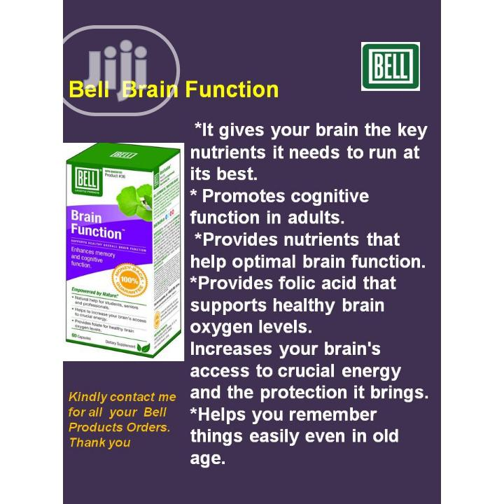 Archive: Bell Brain Function to Enhance Brain Function and Memory