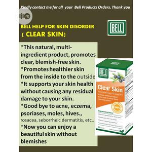 Bell Clear Skin To Help For All Skin Blemishes   Vitamins & Supplements for sale in Lagos State, Ikeja
