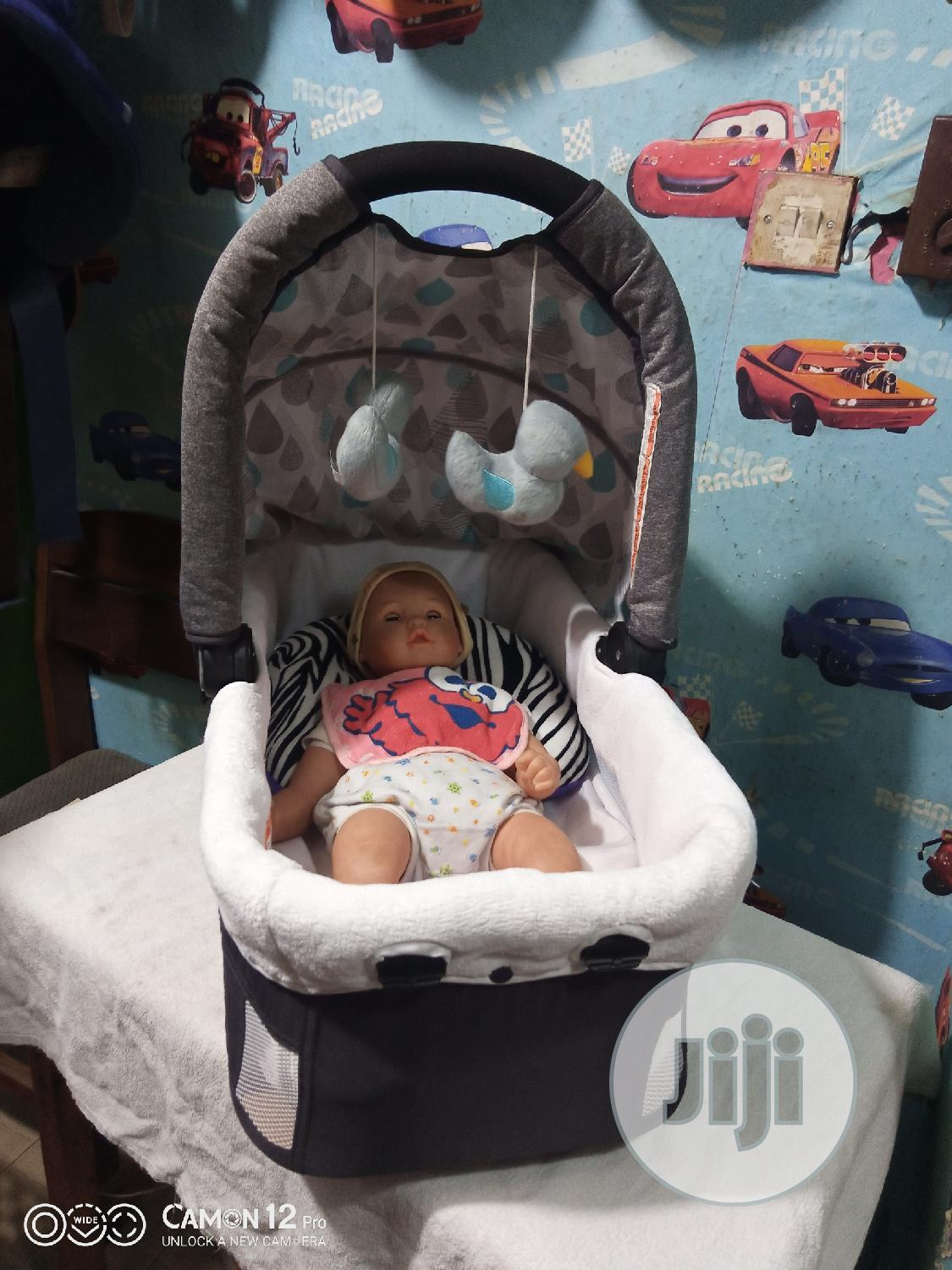 Tokunbo Uk Used Baby Side Bed | Children's Furniture for sale in Ikeja, Lagos State, Nigeria