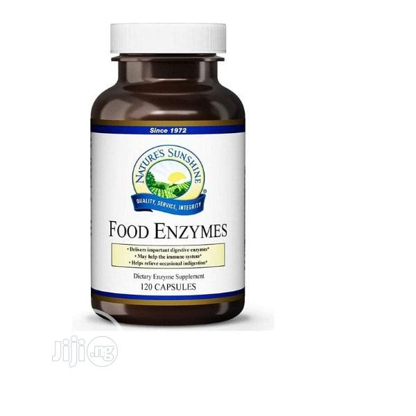 Nature's Sunshine Food Enzymes 120 Caps Digestive Enzymes An