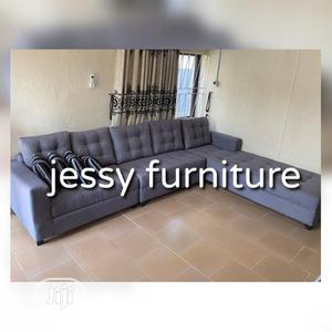 New Set of L-Shaped Fabric Sofa | Furniture for sale in Lagos State, Magodo