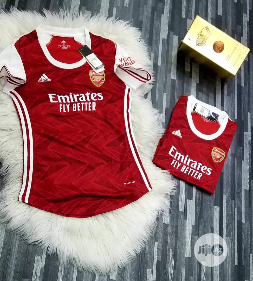 Arsenal Female Home Jersey Season | Clothing for sale in Surulere, Lagos State, Nigeria
