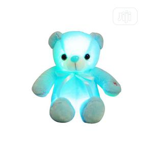 30cm Light Up LED Teddy Bear Plush Toy Doll- Blue   Toys for sale in Lagos State, Ikeja