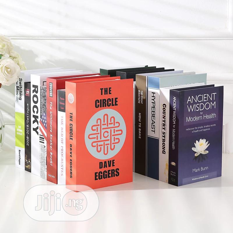 Creative Modern Faux Book Decoration