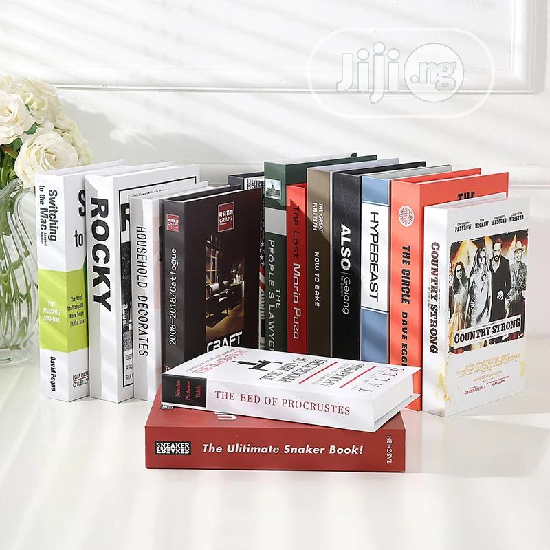 Creative Modern Faux Book Decoration | Books & Games for sale in Lagos Island (Eko), Lagos State, Nigeria