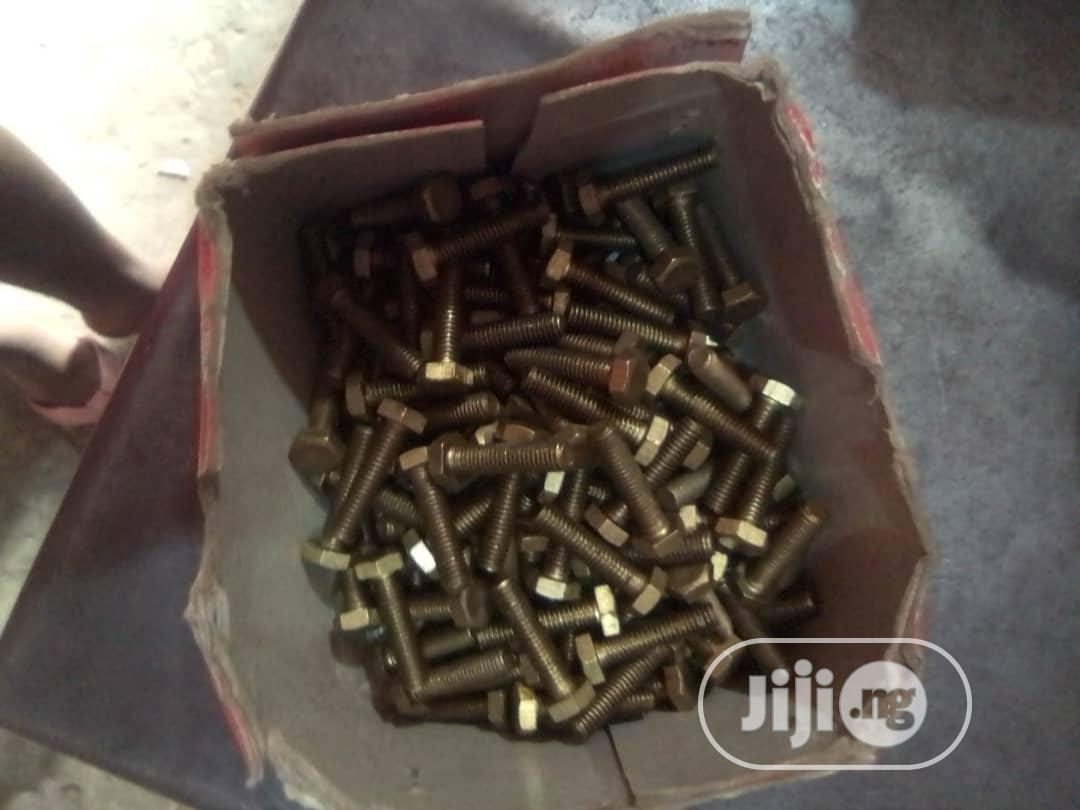 Bolts And Nuts | Hand Tools for sale in Oshodi, Lagos State, Nigeria