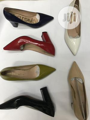 Block Moderate Heel For Work | Shoes for sale in Lagos State, Yaba