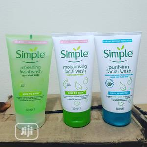 Simple Facial Wash X 1pc   Skin Care for sale in Lagos State, Oshodi