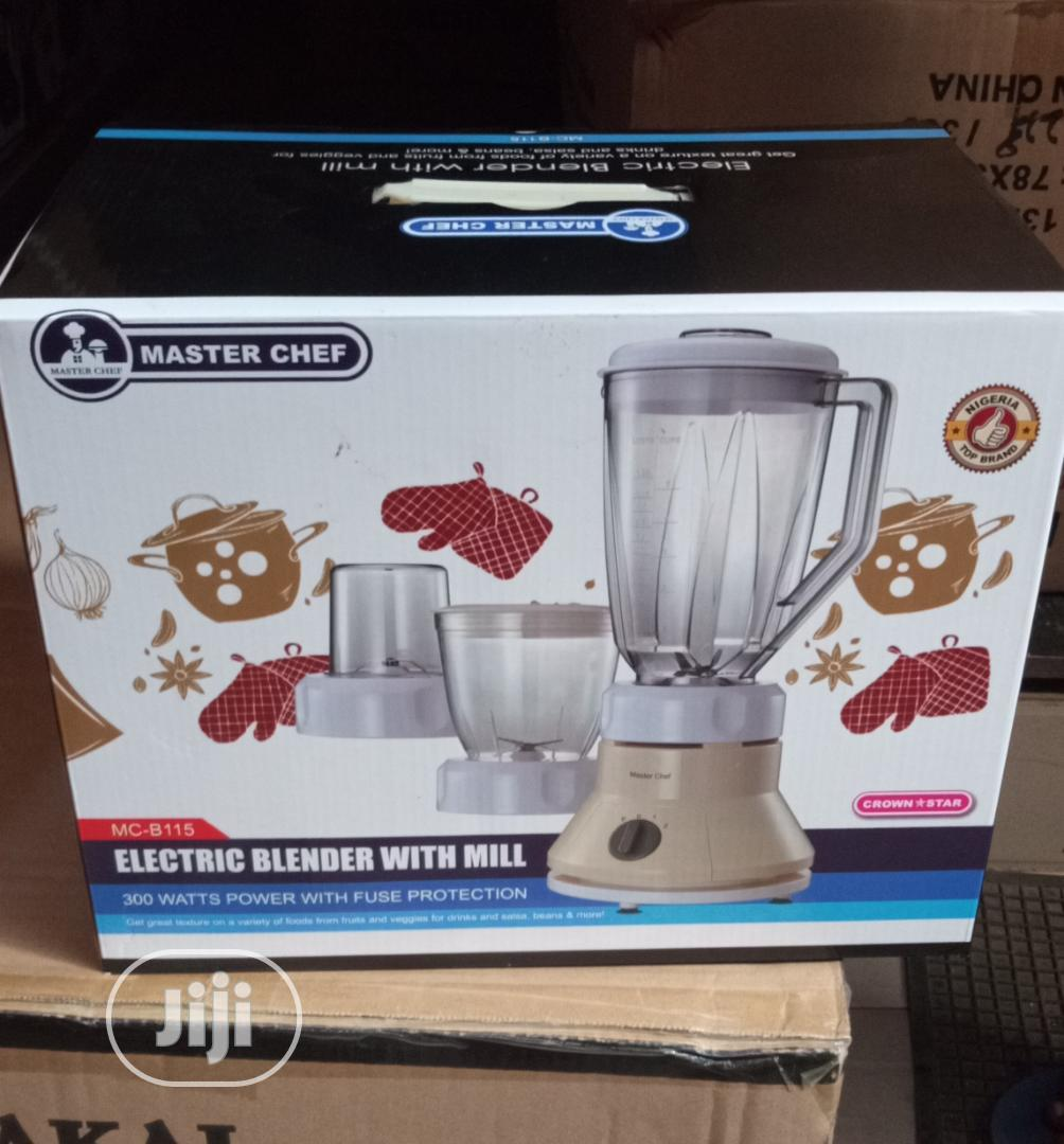 Master Chef Blender With Mill