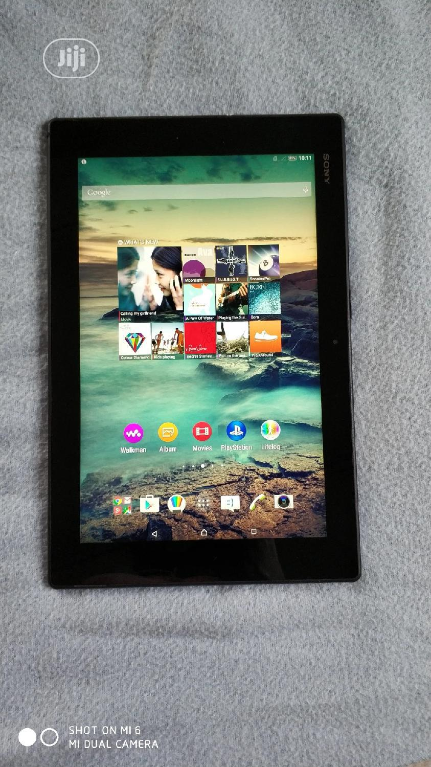 Sony Xperia Tablet Z LTE 32 GB Black   Tablets for sale in Apapa, Lagos State, Nigeria