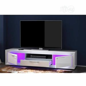 TV Stand With Lcd Light   Furniture for sale in Lagos State, Ipaja