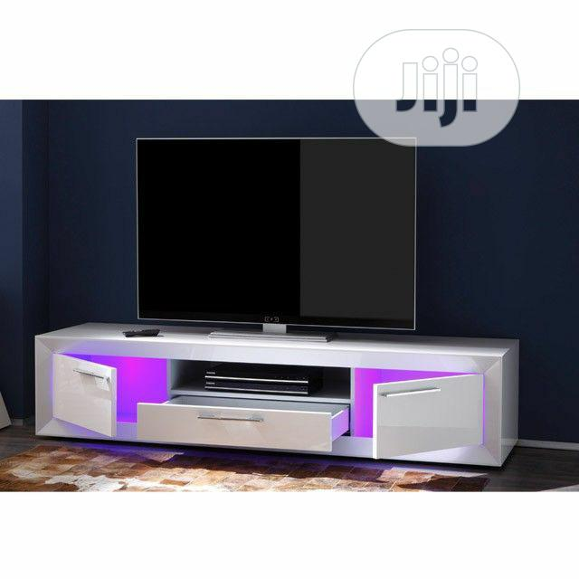 TV Stand With Lcd Light