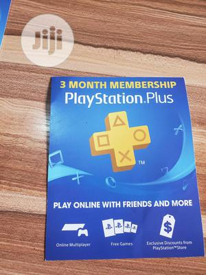 3 Month Membership Playstation Plus Card PSN - USA | Video Games for sale in Lagos State, Ikeja