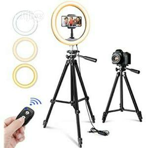Ring Light And Mobile Tripod Stand   Accessories & Supplies for Electronics for sale in Lagos State, Ikeja