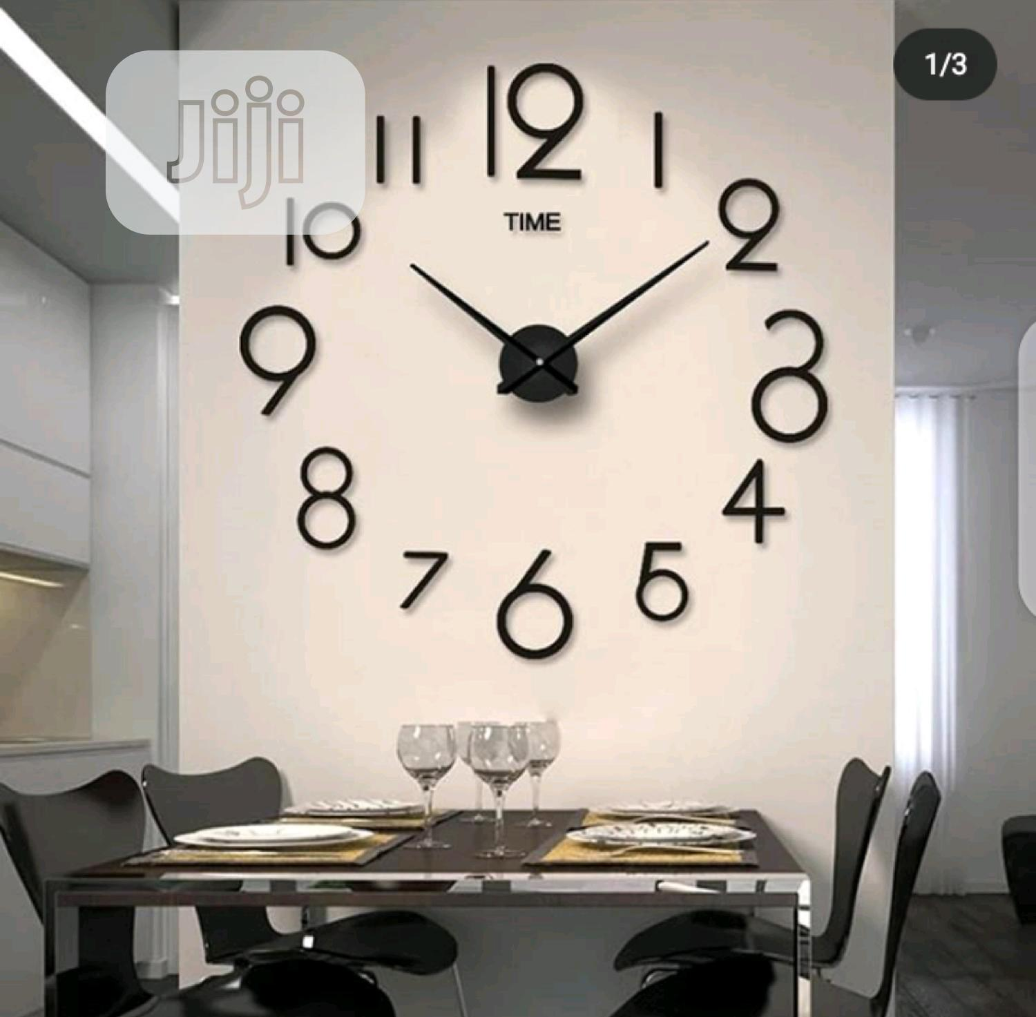 Archive: Fashion Diy Modern 3D Wall Art Sticker Clock 2020