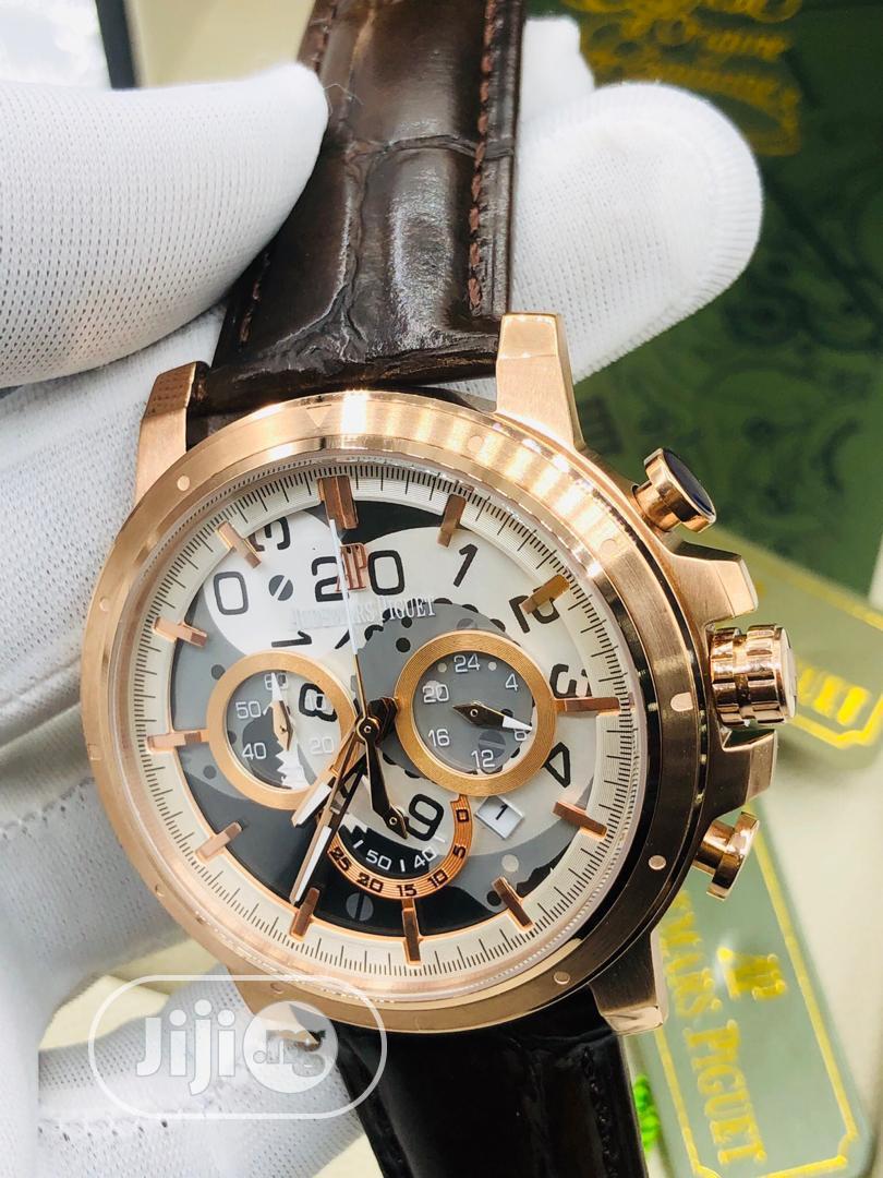 High Quality Audemars Piguet Leather Watch