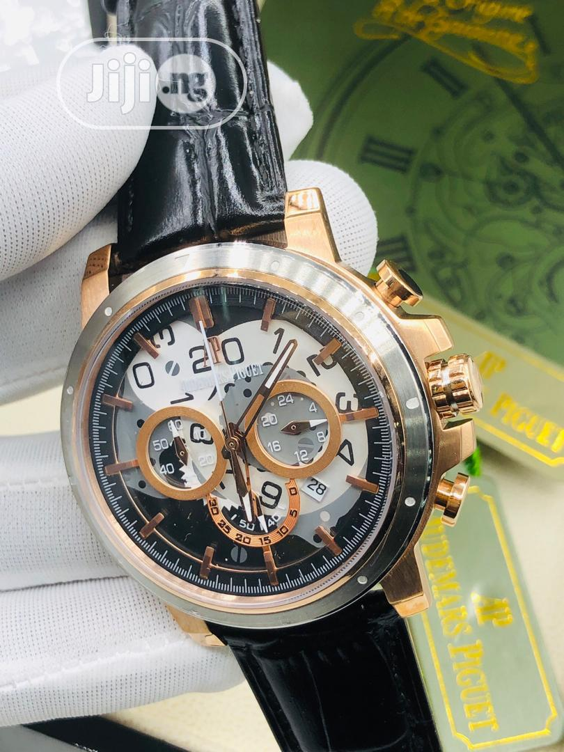 High Quality Audemars Piguet Leather Watch | Watches for sale in Ibadan, Oyo State, Nigeria