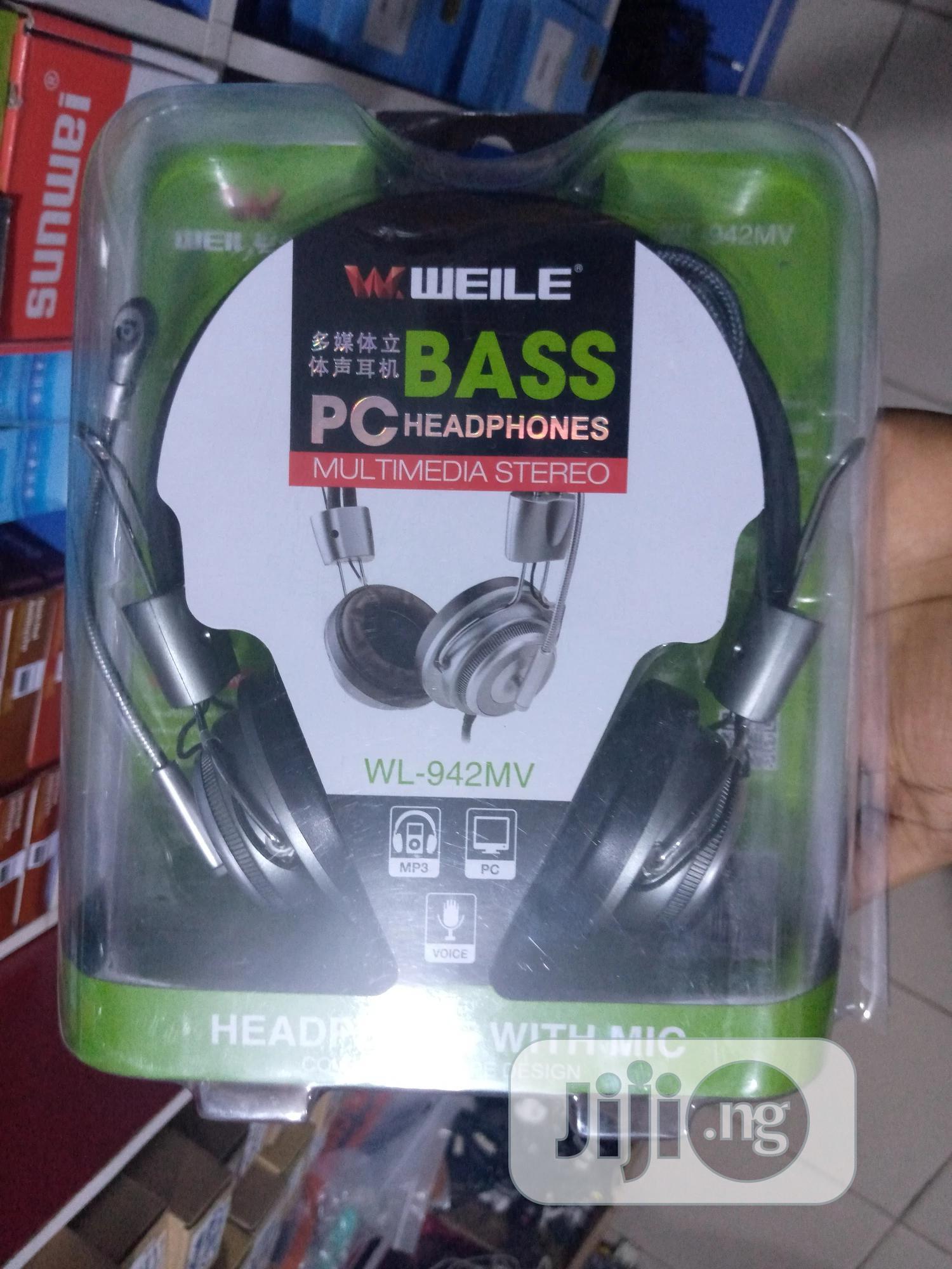 Bass Pc Headphones