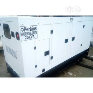 Perkins Diesel Generator 20kva, Soundproof, Pure Copper | Electrical Equipment for sale in Lagos State, Ojo