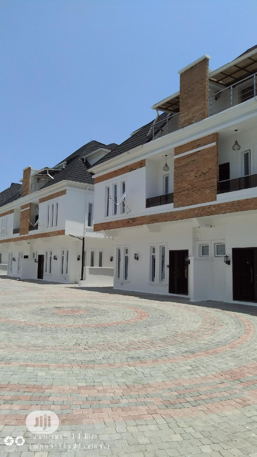 Amiable 4 Bedrooms Semi Detached Duplex In A Secured Estate