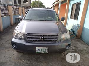 Toyota Highlander 2003 V6 FWD Blue   Cars for sale in Anambra State, Awka