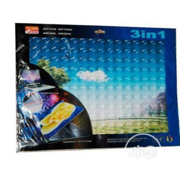 Archive: 3in1 Transparent 2 Screen Keyboard Protector